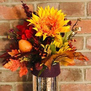 spredsomechic Other - SOLD!       - Handmade Fall flower arrangement